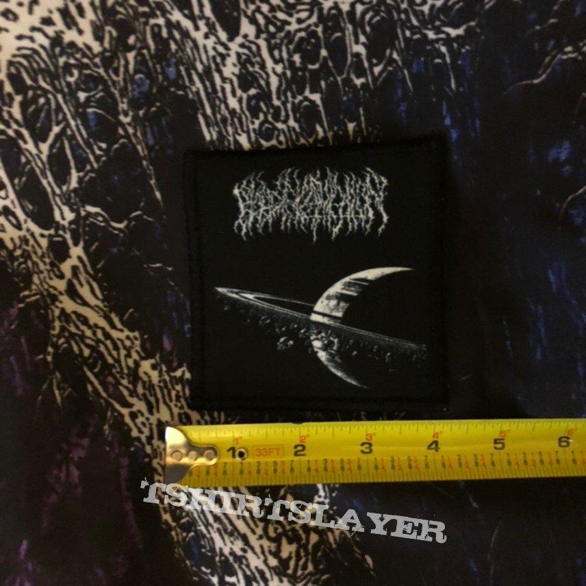 "Blood Incantation- Interdimensional Extinction 4"" Square Patch"