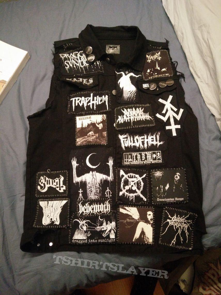 B&W Battle jacket update #1