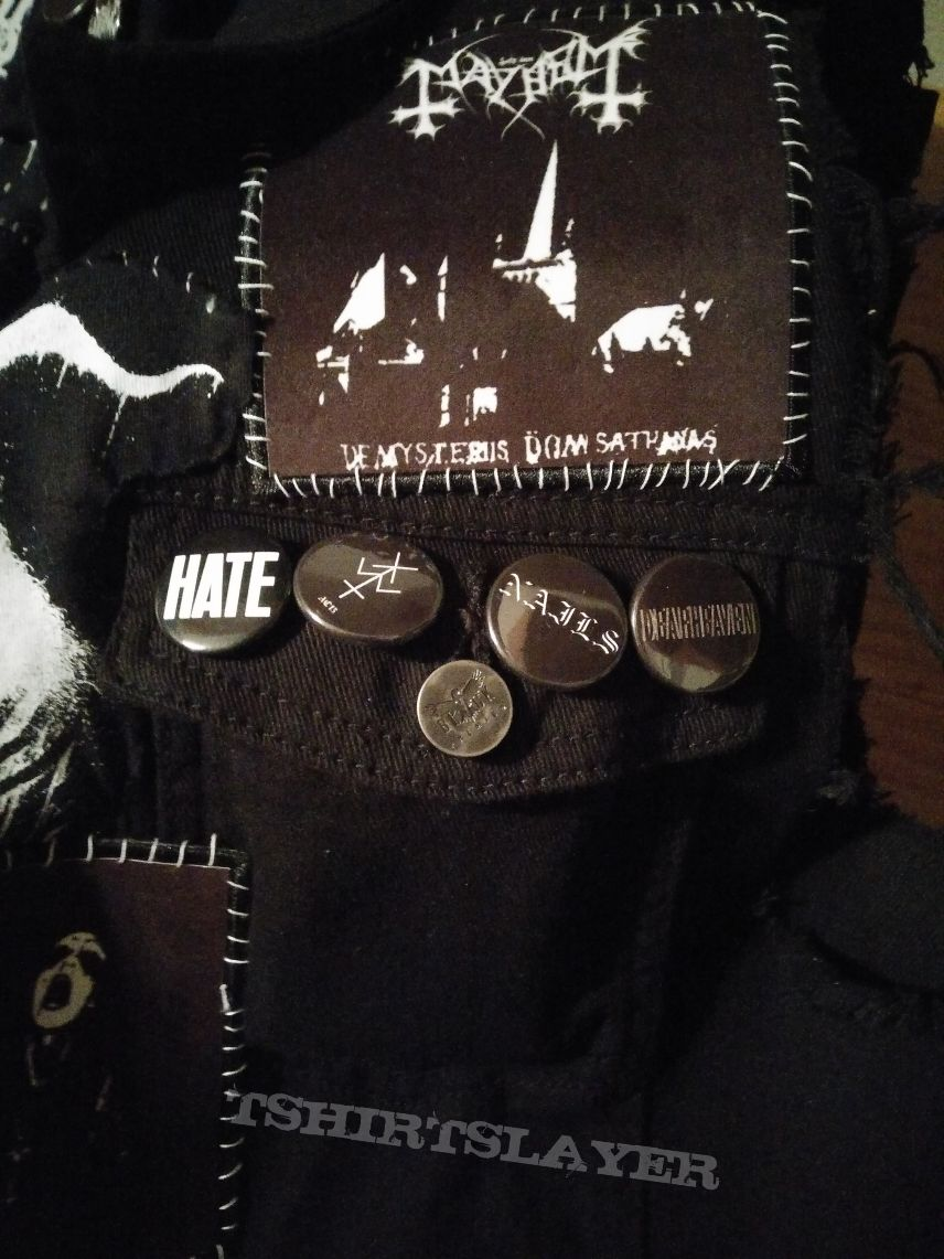 B&W Battle jacket