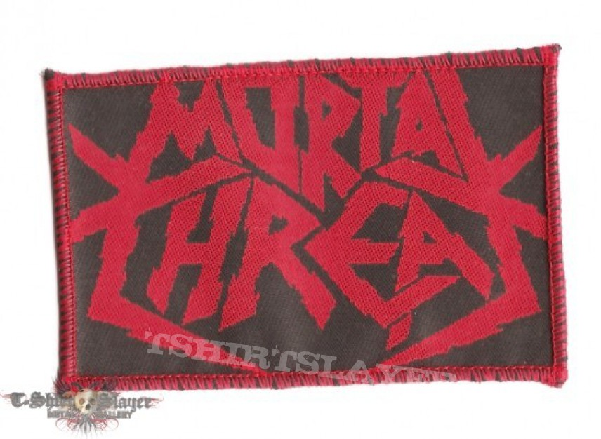 Patch - Mortal Threat - Logo (Woven Patch)