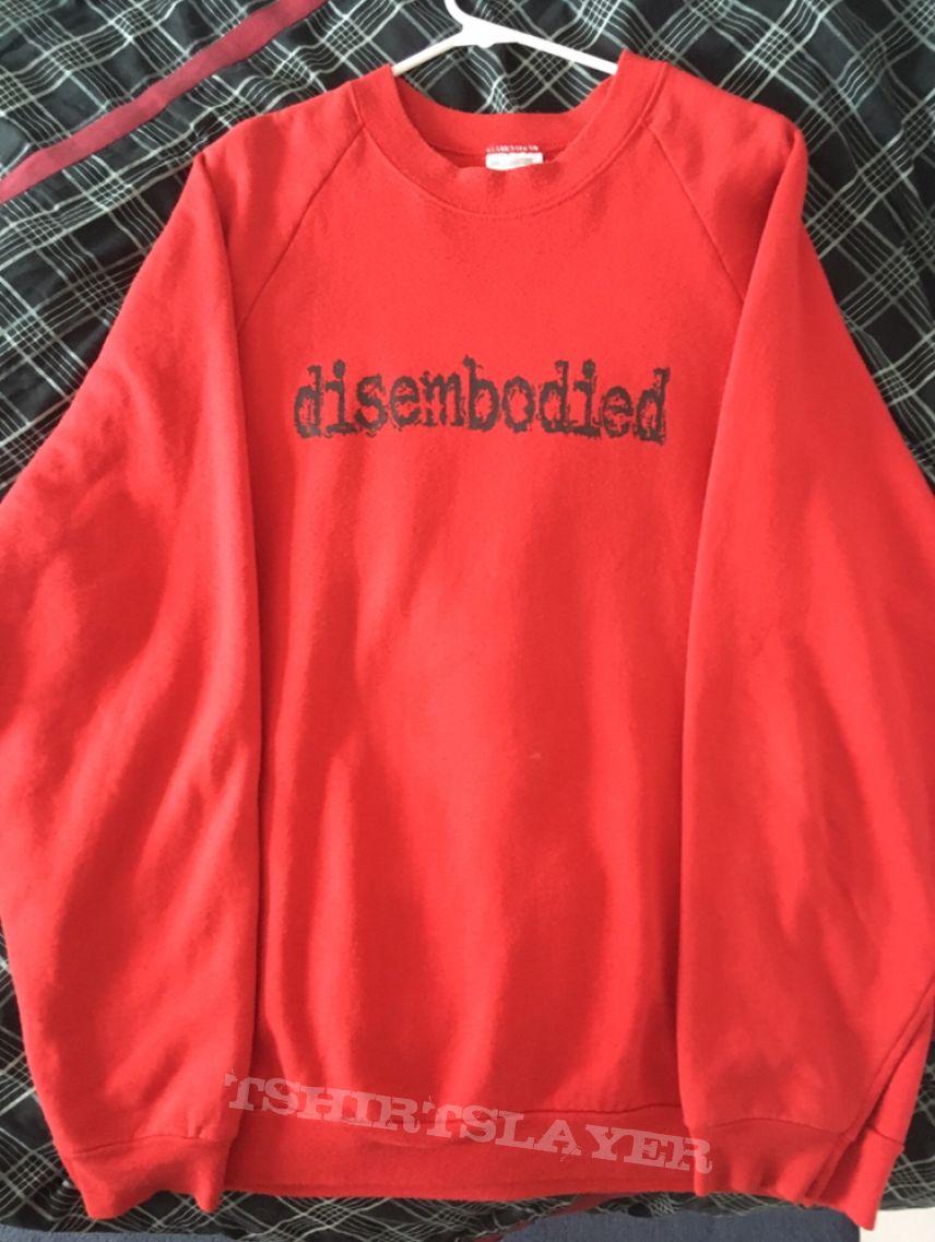 "Disembodied ""diablerie"" crewneck"
