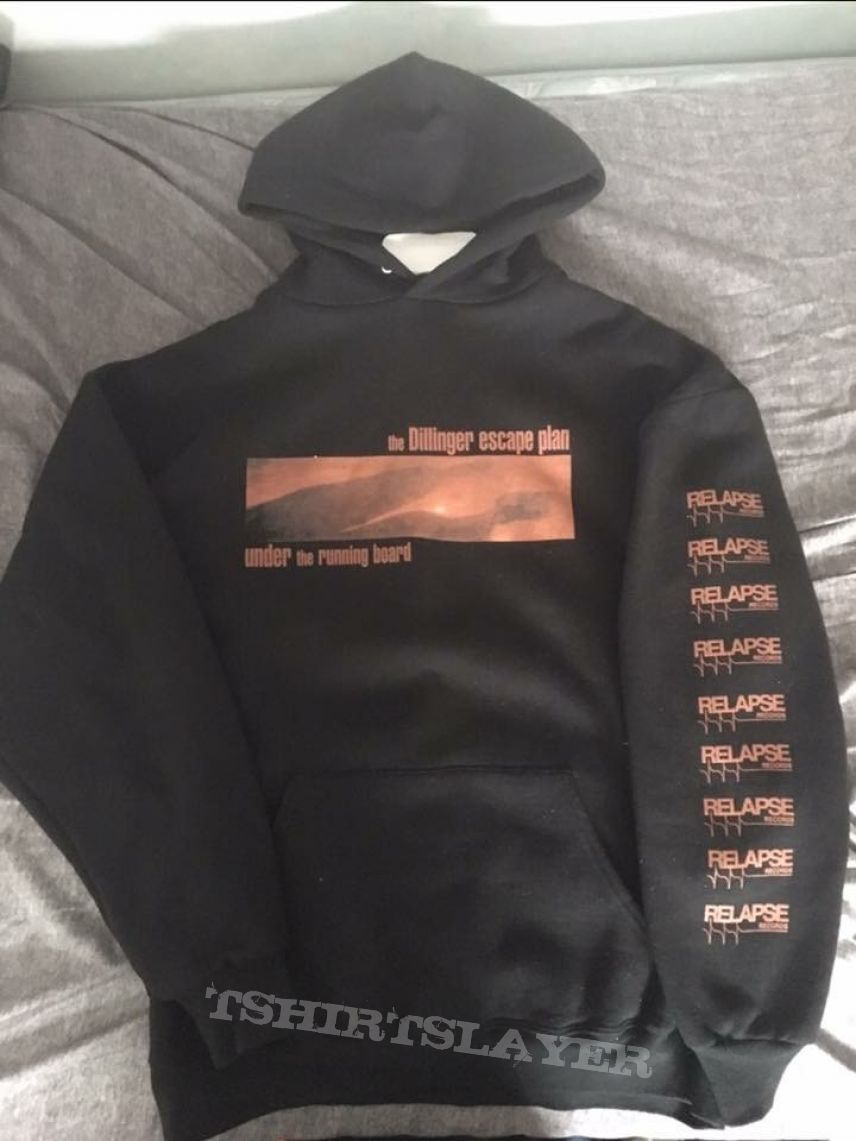 "Dillinger Escape Plan ""Under The Running Board"" hoodie"