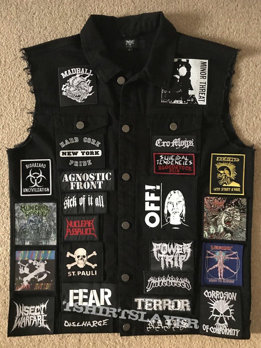 Hardcore/crossover jacket