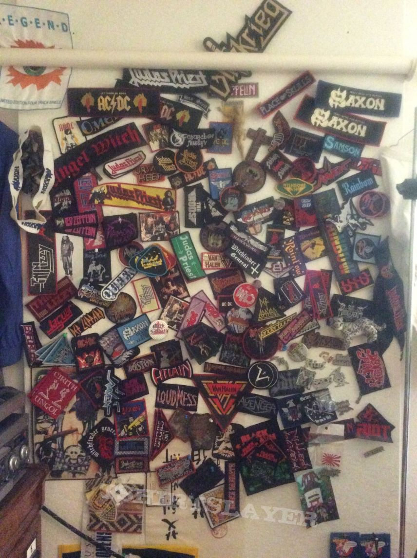"""OLD PATCHES """"Ac Dc 'till the Who"""""""
