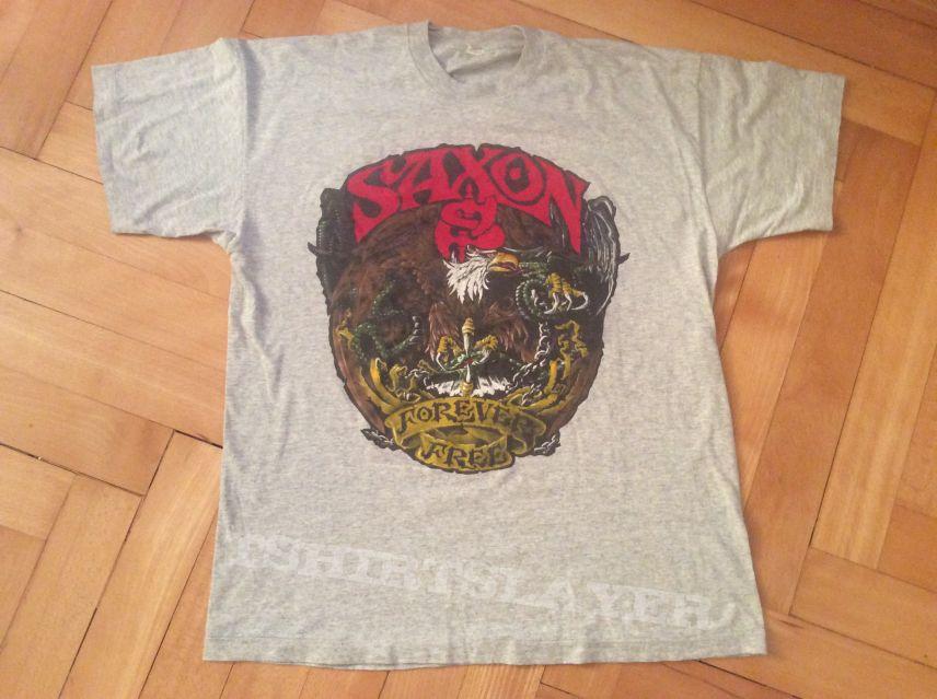 """Saxon """"Forever Free Tour 1993"""" (Original)"""