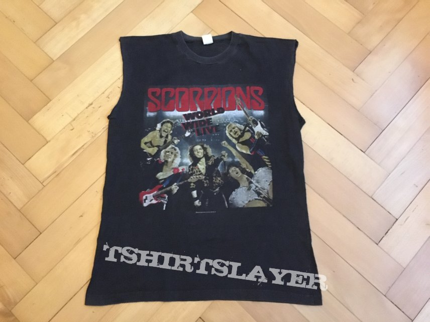 "Scorpions ""world wide live / Tour 1986"" (Original)"