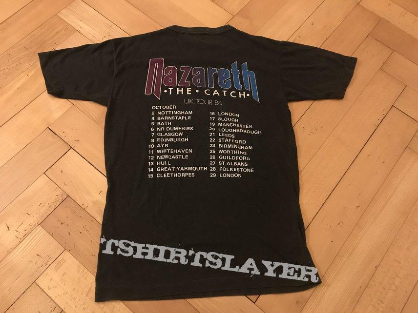 """Nazareth """"the catch"""" uk tour '84 (Original)"""