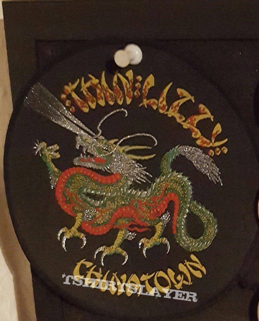 Thin Lizzy tour patch