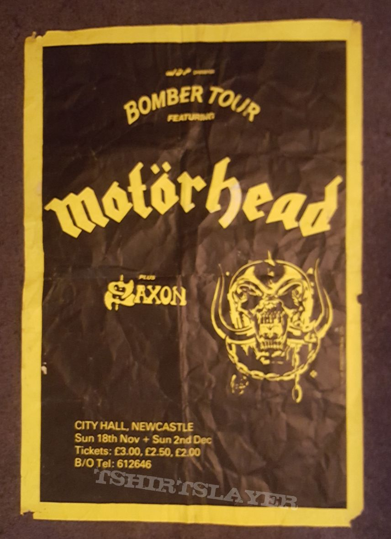 Motörhead Bomber tour poster  79