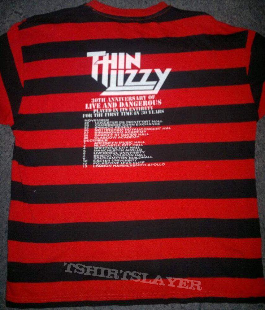 Thin Lizzy tour shirt