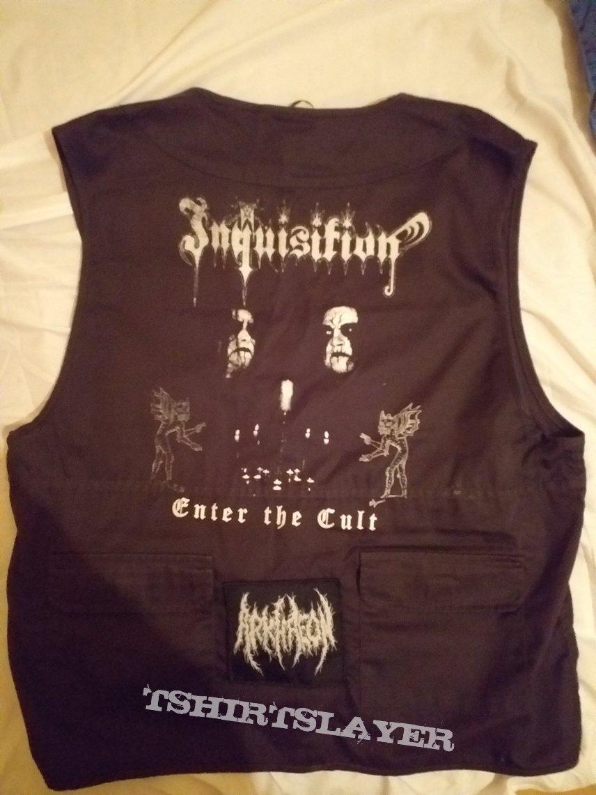 Inquisition-Enter The Cult commander/die-hard vest