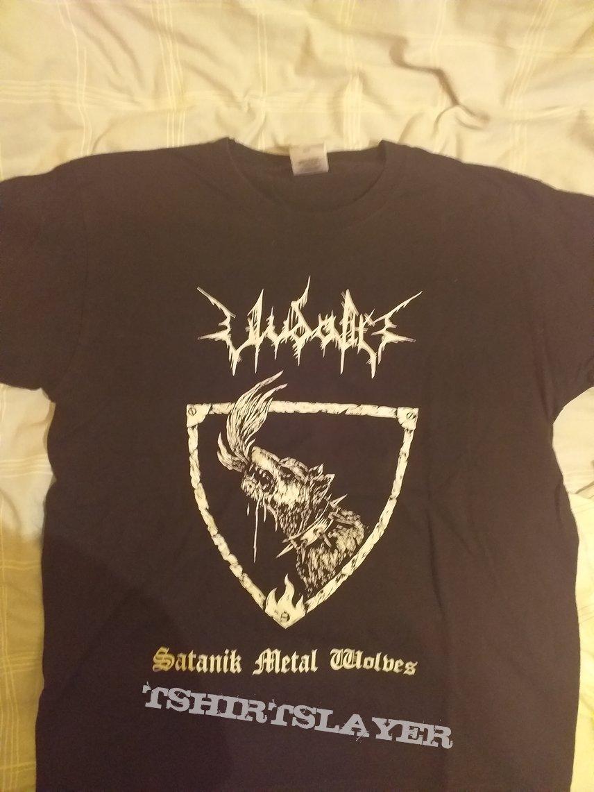 Ulvdalir-Satanik Metal Wolves (T-shirt)