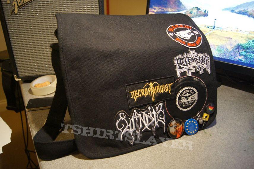 Start of a Patch Messenger Bag
