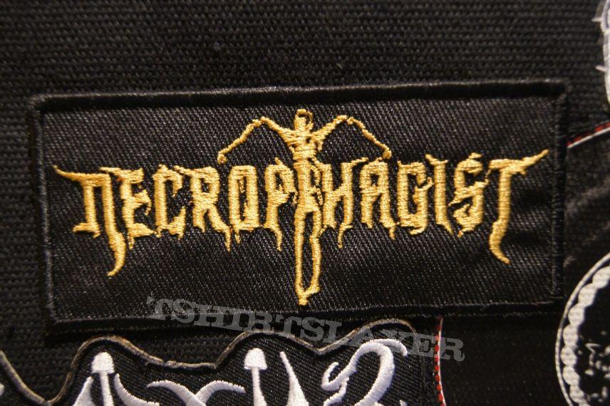 Necrophagist Gold Logo Patch