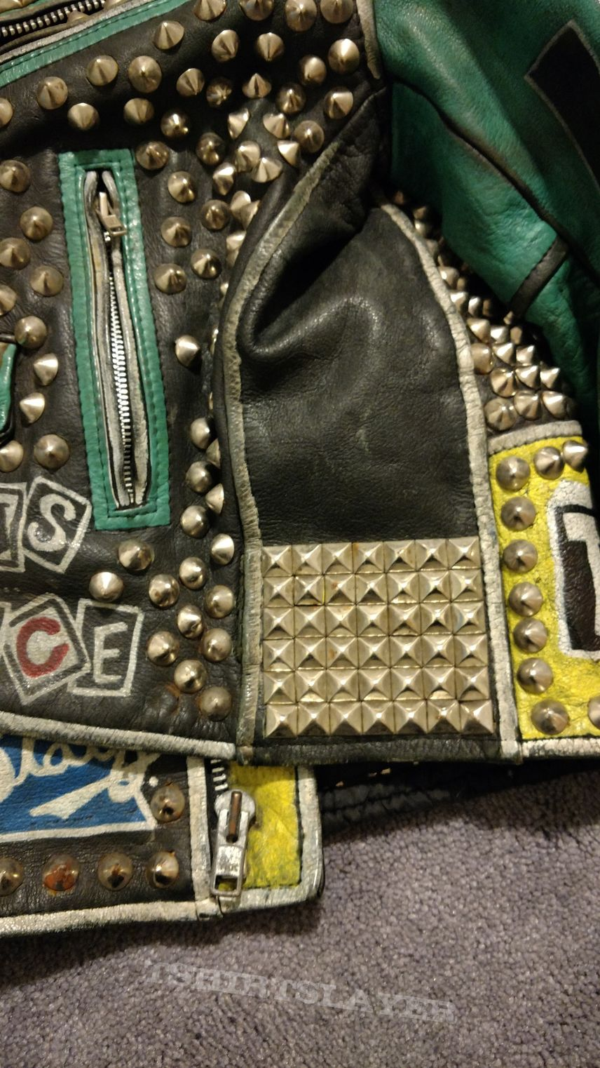my old punk leather jacket