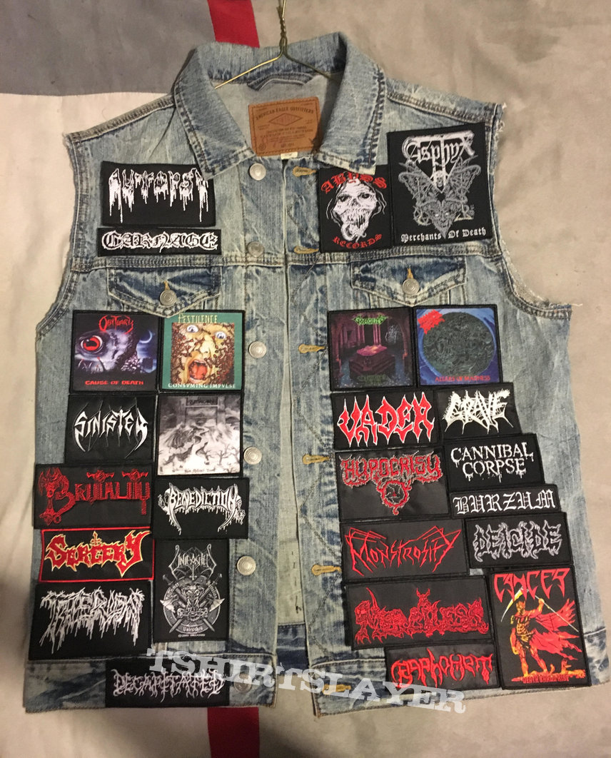 My osdm/black metal vest