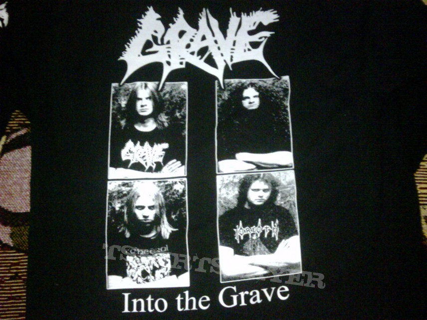 TShirt or Longsleeve - Into the Grave