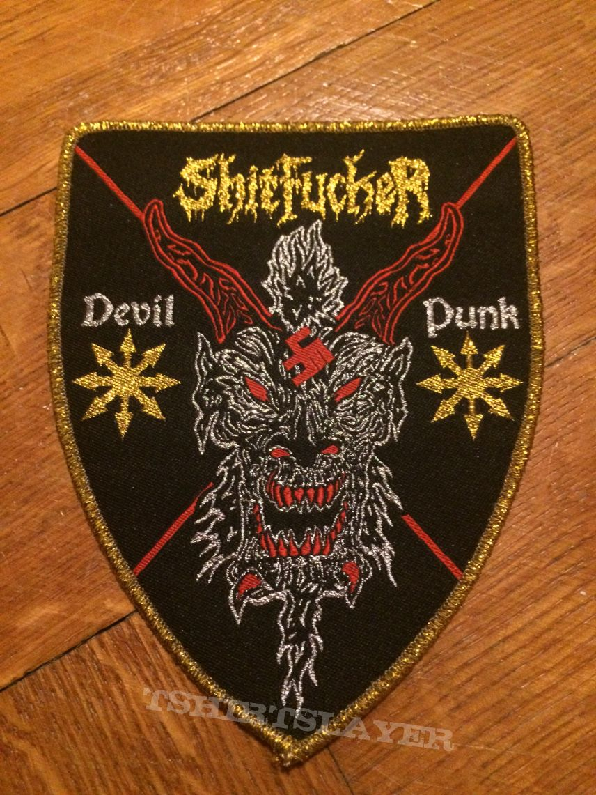 Shitfucker Devil Punk patch