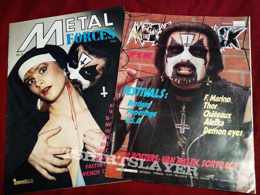 MERCYFUL FATE- posters/pics/zines/etc.