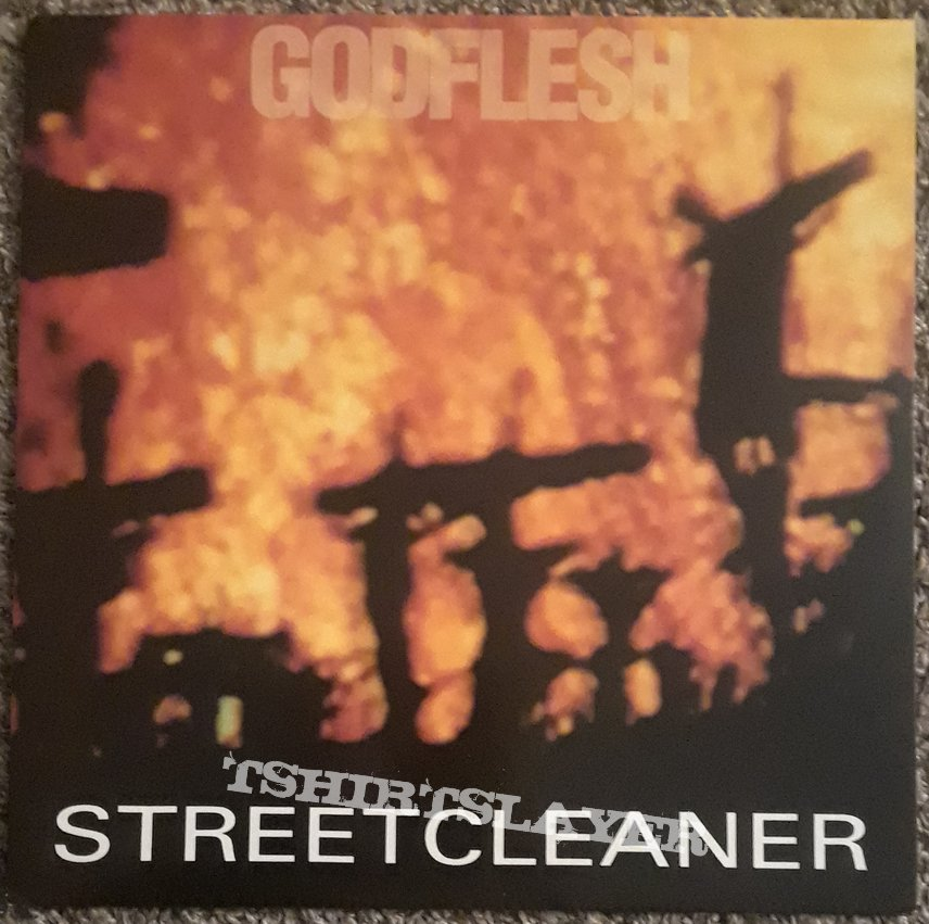 GODFLESH- press/media/posters