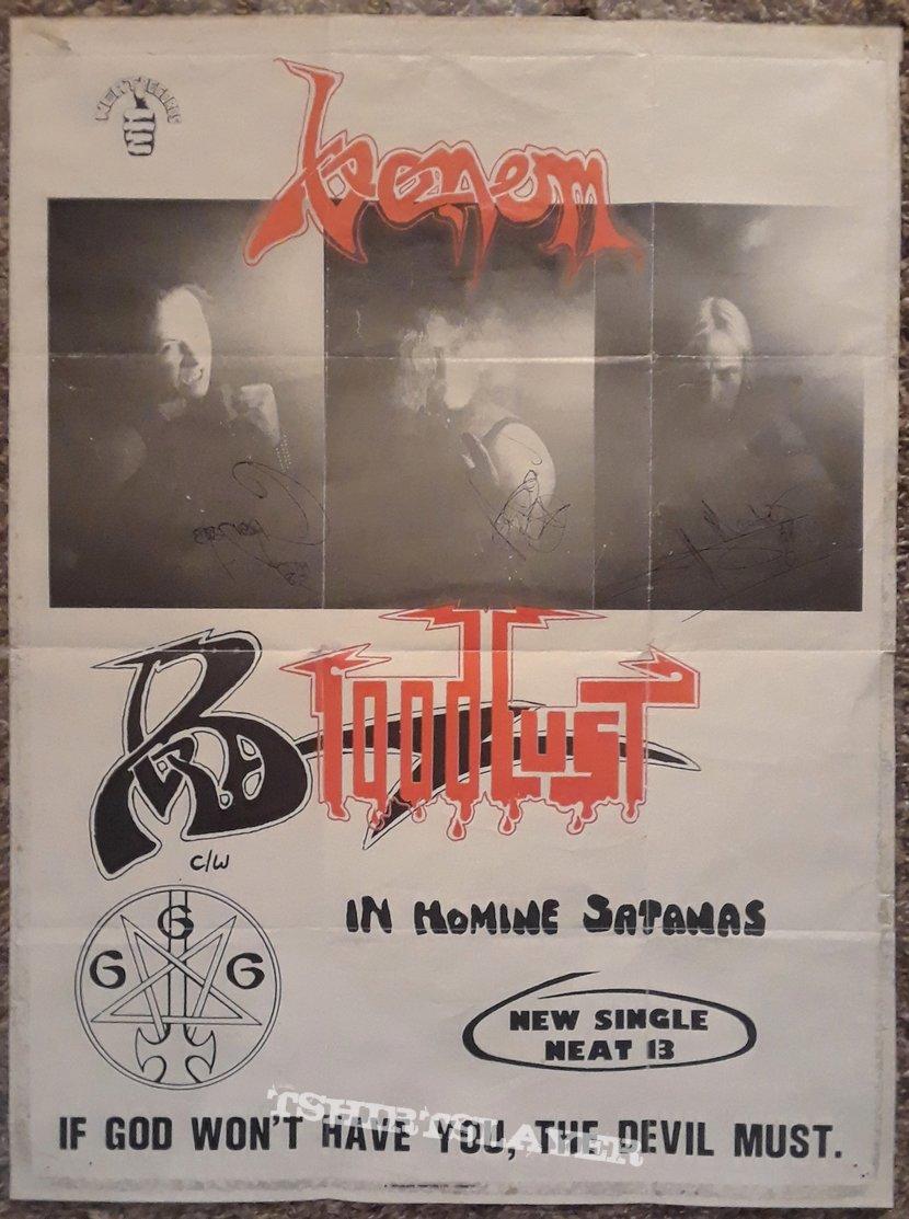 VENOM- posters/press