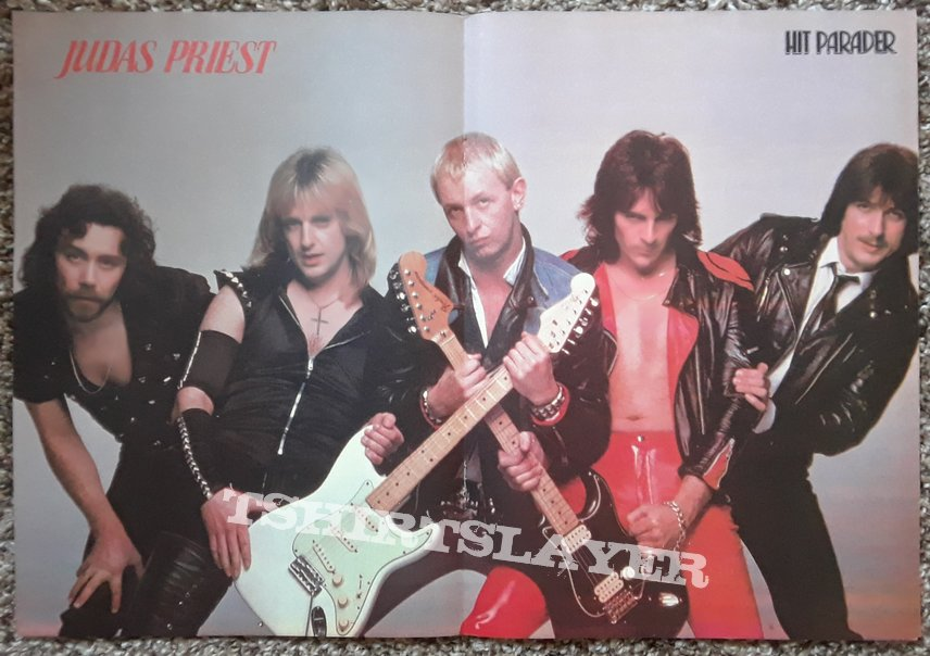 JUDAS PRIEST- posters/magazines