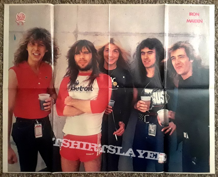 "IRON MAIDEN- ""N.O.T.B."" posters/mags/features"