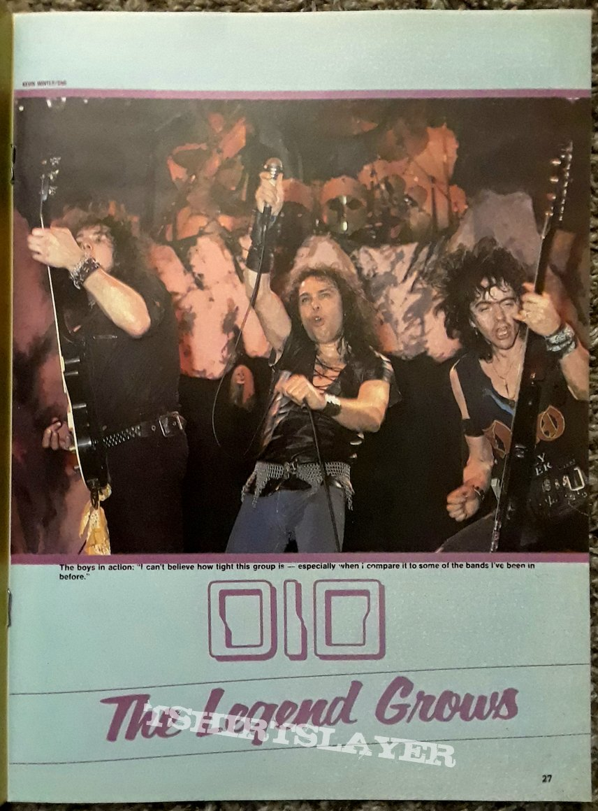 DIO- posters