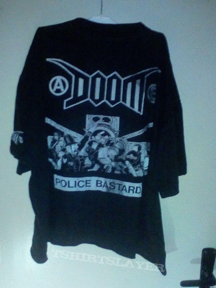 doom - police bastard - shirt