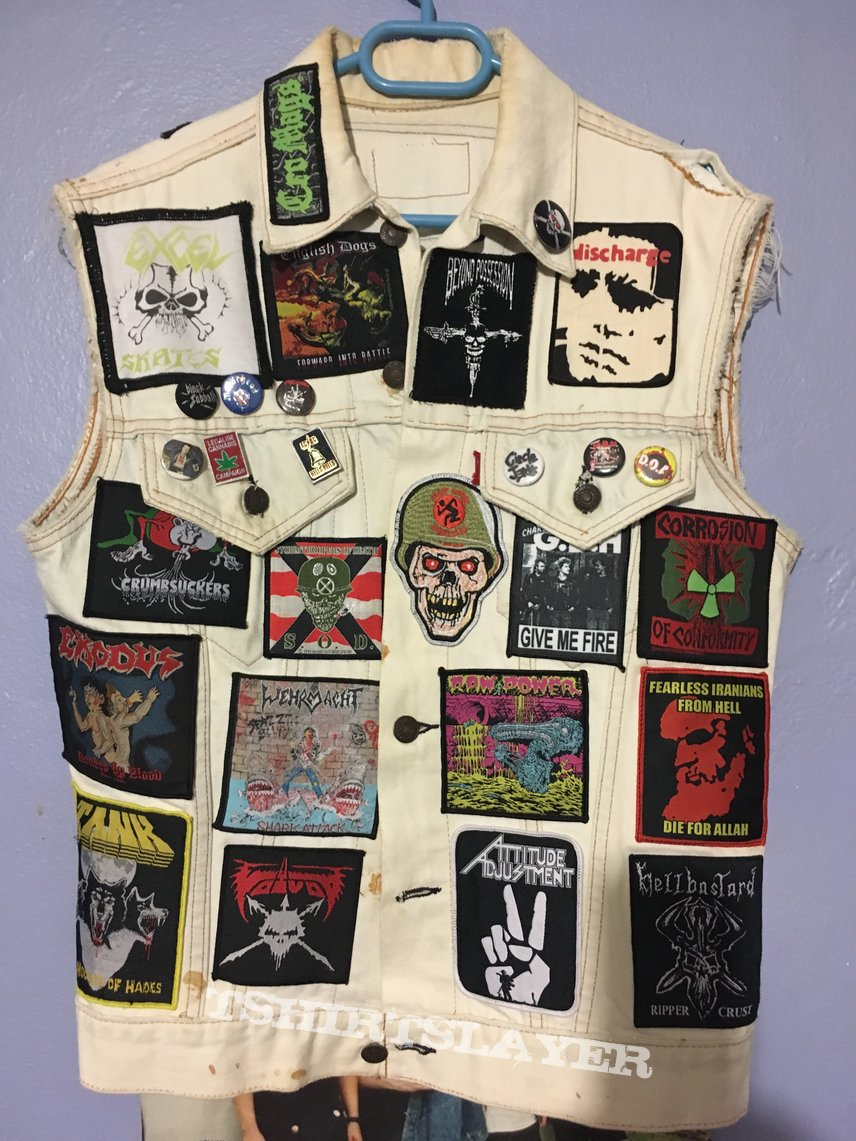 My little brother's battle vest