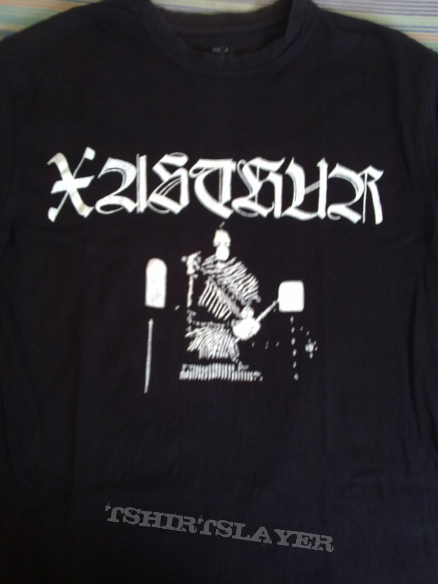 Hand painted Xasthur  t shirt