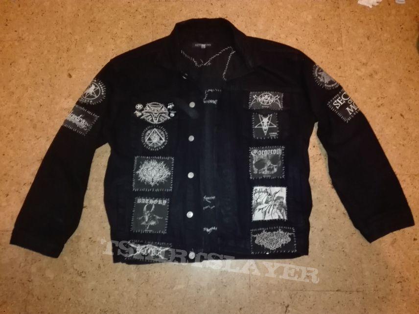 Black Metal denimjacket Update