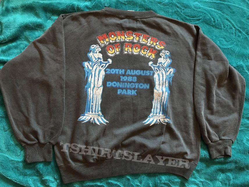 Monsters of rock 1988 iron maiden Sweatshirt