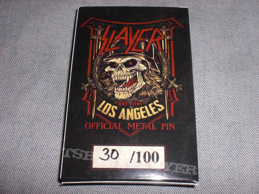 Slayer 2018 Nuclear Blast pin