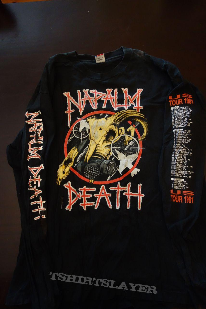 Napalm Death US Tour 1991