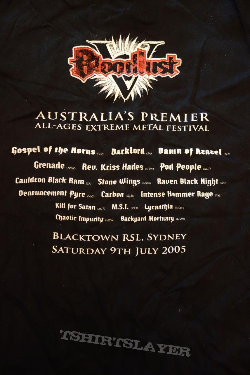 Bloodlust festival 2005