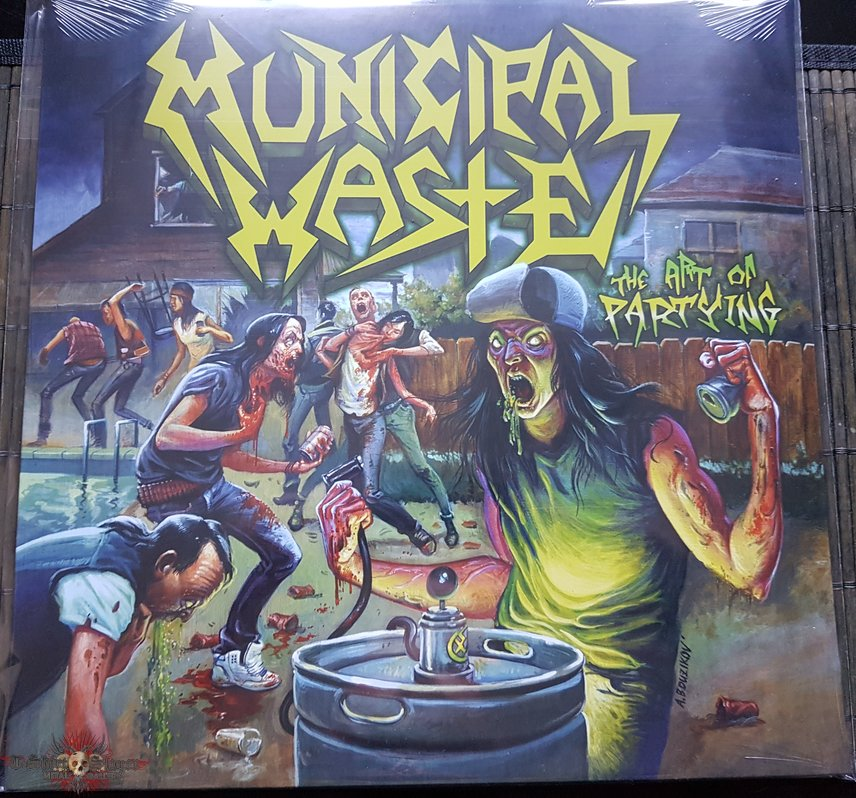 Municipal Waste The art of partying