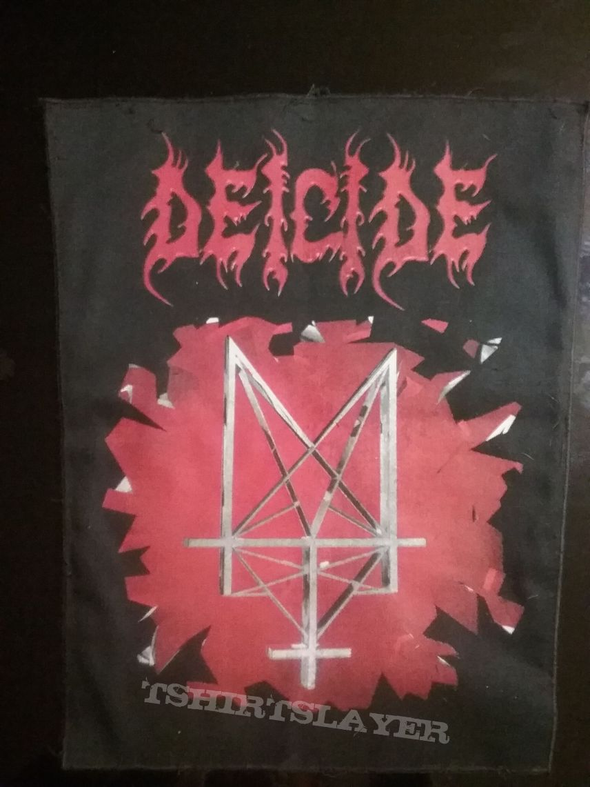 Deicide back patch