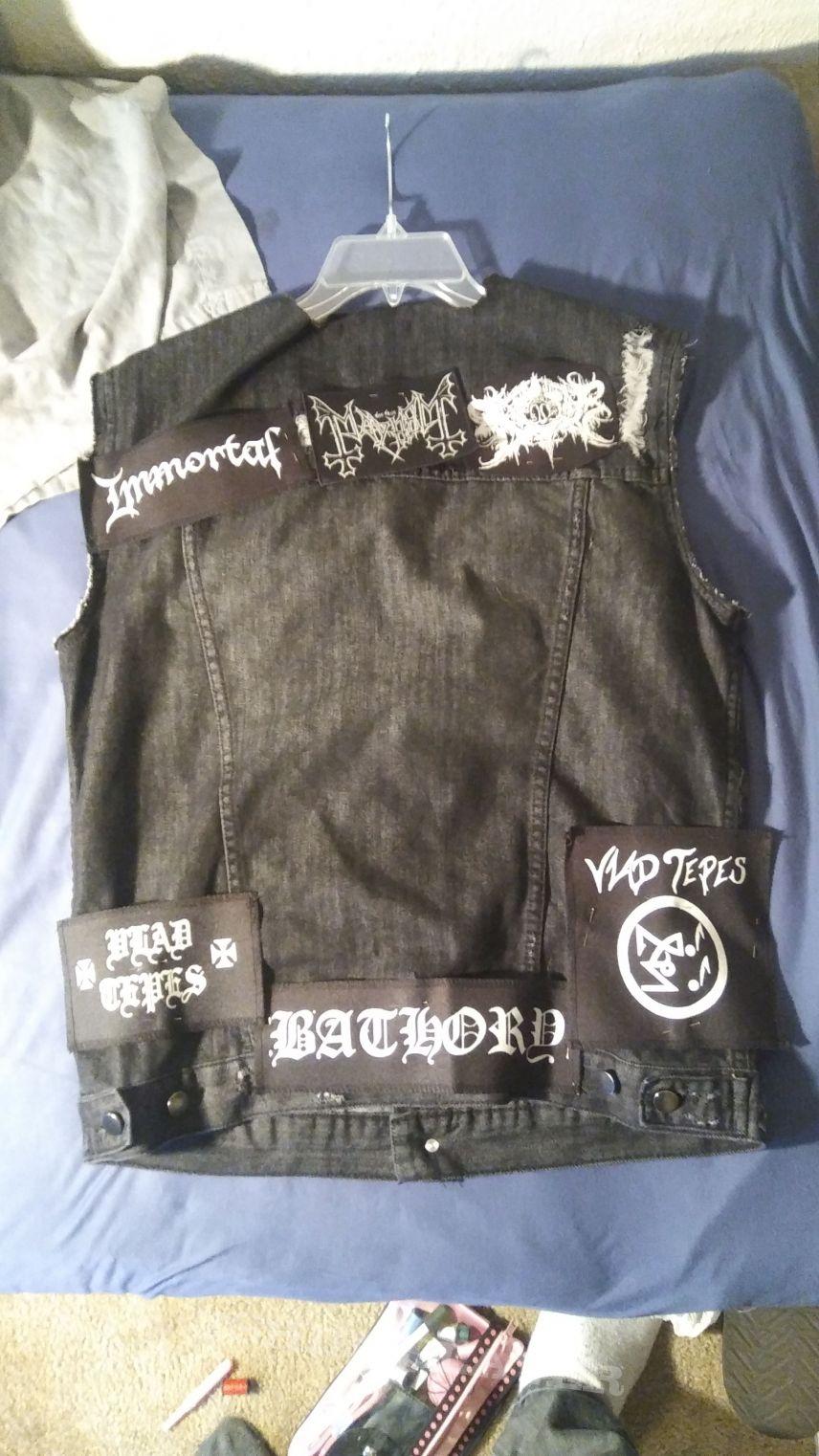 Work in progress BM vest