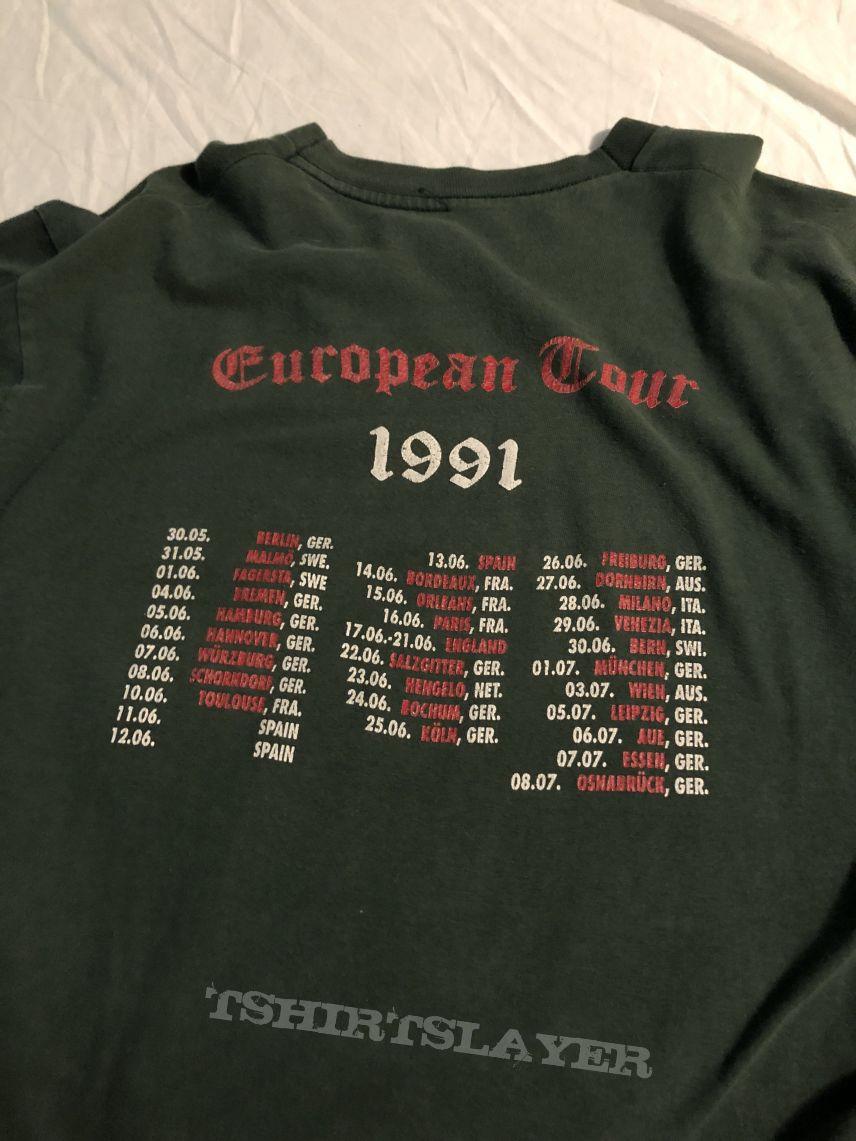 1991 European tour