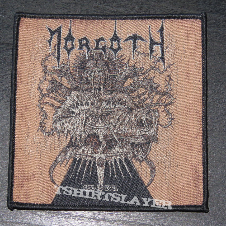 Morgoth - God Is Evil - Patch