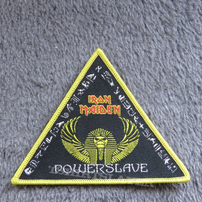 Iron Maiden - Powerslave - Triangle Patch
