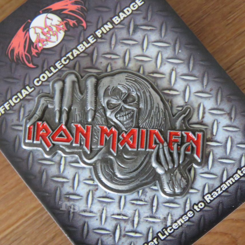 Iron Maiden - Number Of The Beast - Pin/Badge