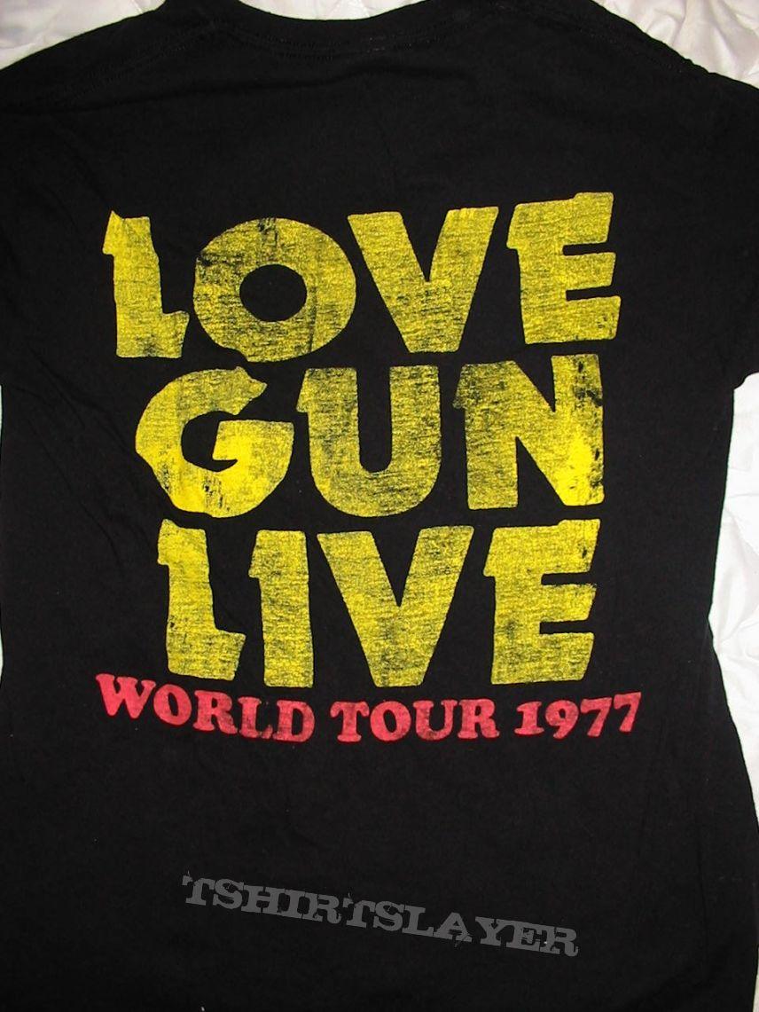 Kiss - Love Gun Tshirt