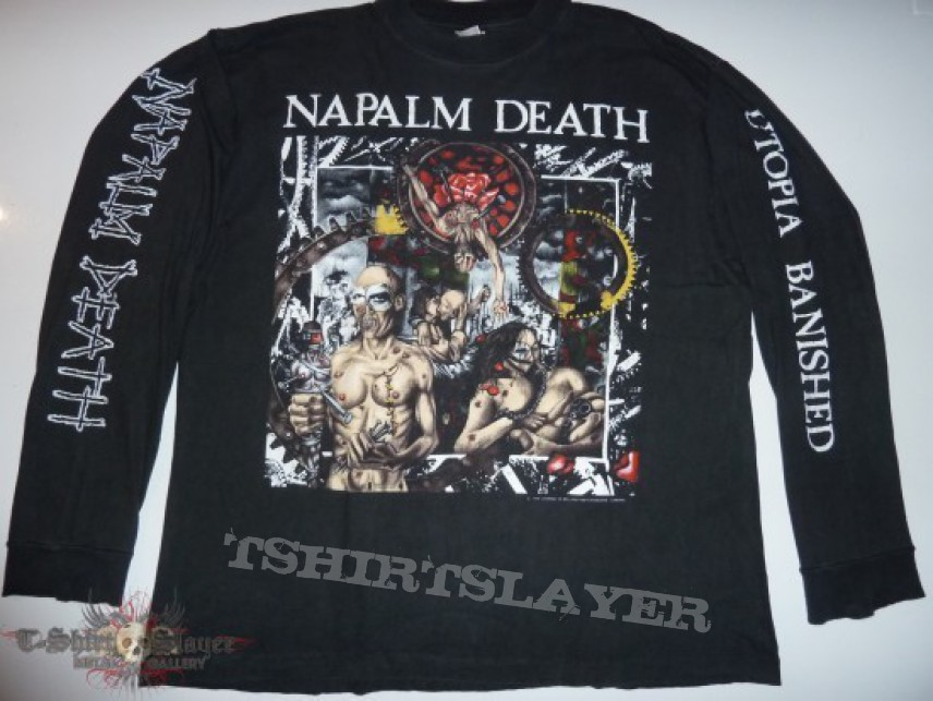Setherial18 S Napalm Death Napalm Death Utopia Banished