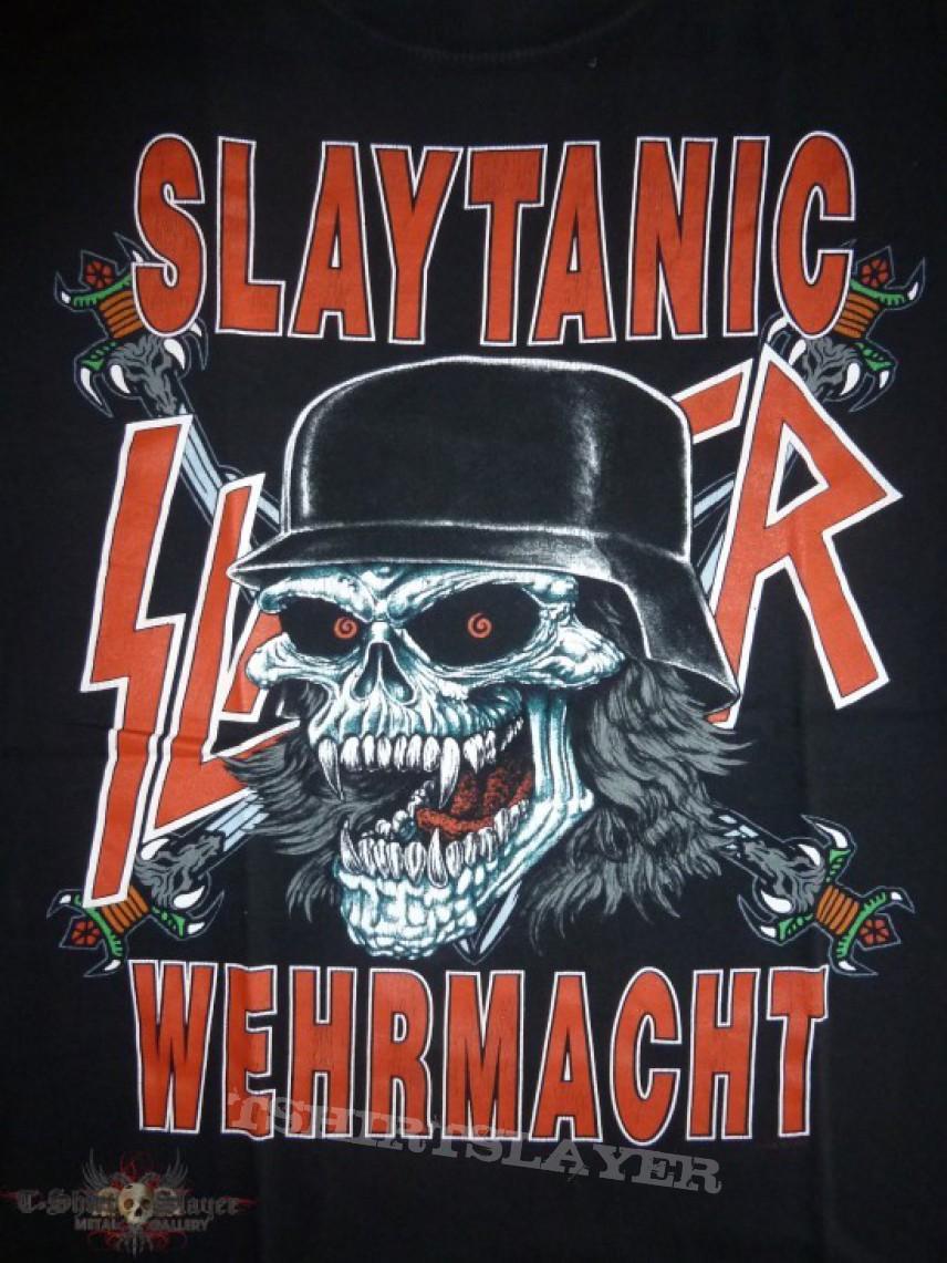 ... , Slayer - Slaytanic Wehrmacht TShirt or Longsleeve | TShirtSlayer