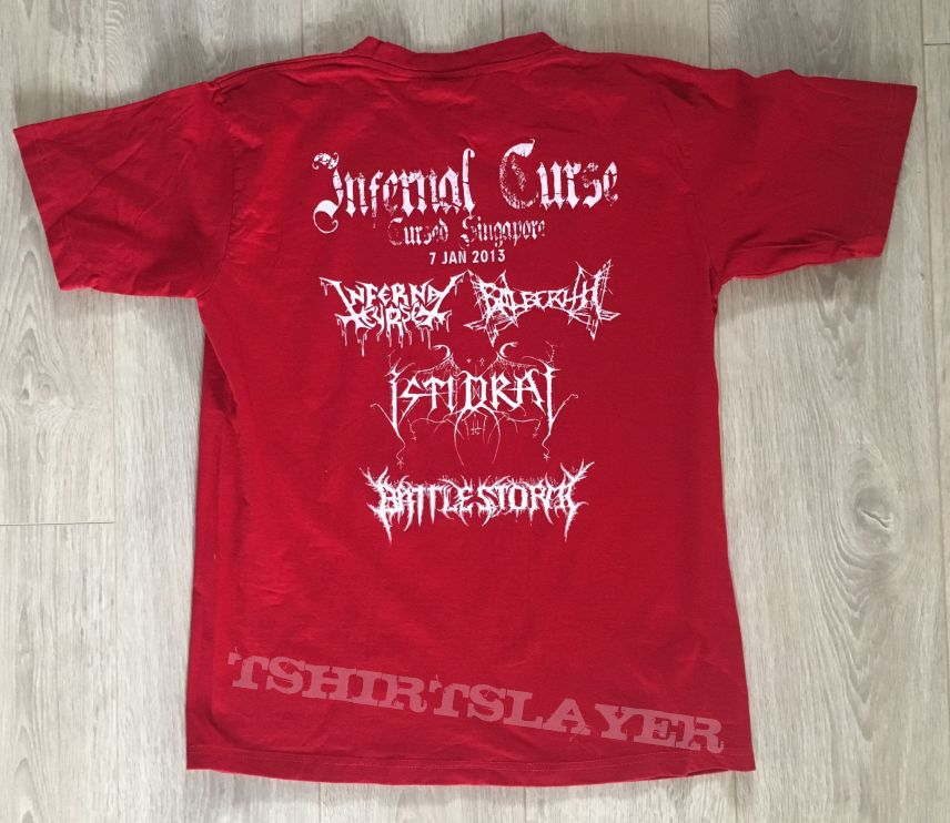 Infernal Curse - Cursed Singapore 2013