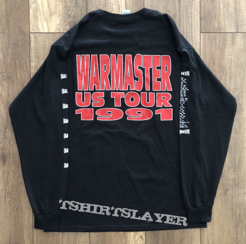 Bolt Thrower - Warmaster US Tour 1991