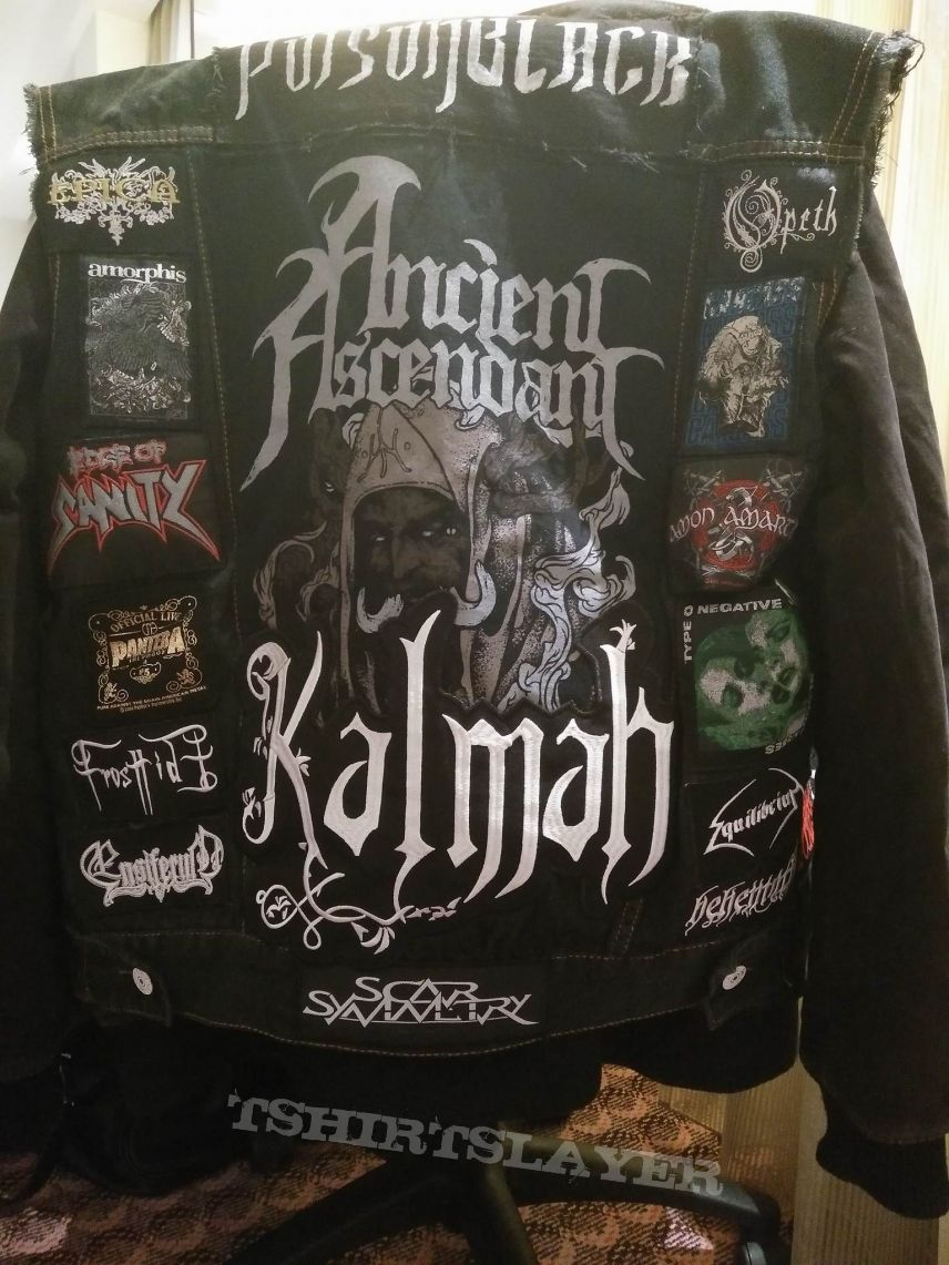 Melodeath/Gothic/Other Patch Vest