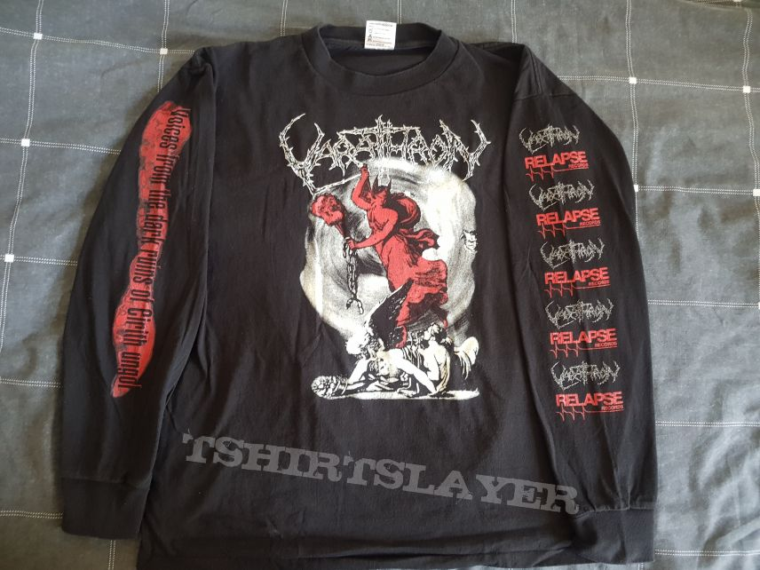 Varathron - Long Sleeve (size L) Relapse Records